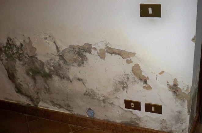 Umidit di risalita ecco la soluzione definitiva pirisi srl - Umidita muri esterni casa ...